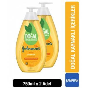 Johnsons Baby Şampuan 750 ml x 2 Adet