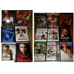 16 DVD Dorothy Dandridge Trapped Ladder 49 Officer Gentl The Cell Gothika Spanglish The Good Thief