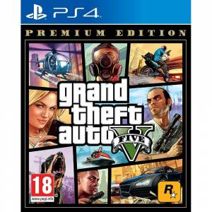Grand Theft Auto V GTA 5 PS4 Playstation 4 + HARİTA