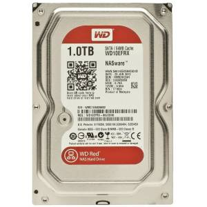 WD Red 1TB Intellipower 3.5 Sata 3.0 64Mb Cache WD10EFRX 7/24 Nas Disk