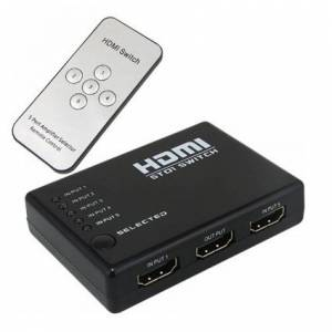 SLine 5in 1 HDMI Switch K:100