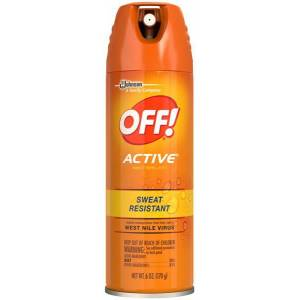 Off Active Sivrisinek Kovucu Sprey 170 Gr. Made in USA