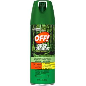 Off Deep Woods Sprey 170 Gr. Made in USA