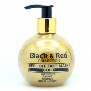 Black Red Gold Maske 250ml. Soyulan