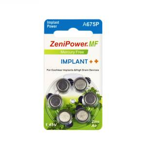 Zenipower implant pili KOKLEAR-COCLEAR A675P 6 ADET