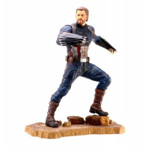 Diamond Select Toys - Captain America Marvel Gallery Avengers Infinity War Movie Figür