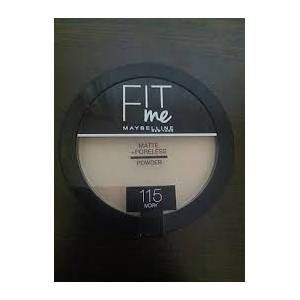 Maybelline New York Fit Me Matte+Poreless Pudra - 115 Ivory