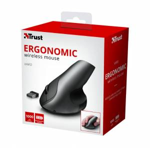 TRUST 22126 VARO WIRELESS-KABLOSUZ ERGONOMİK MOUSE