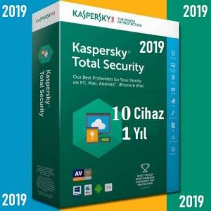 Kaspersky Internet Security KASPERSKY TOTAL SECURITY 2019 10 PC / 1 YIL En İyi Fiyat