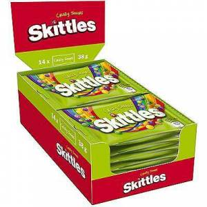 Skittles Crazy Sours 1438g Total 532g