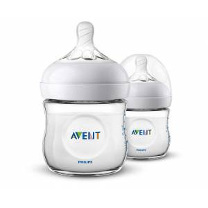 Philips Avent SCF030/27 Natural Biberon 125 ml 2 li