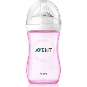 Philips Avent Natural SCF694/17 Tekli Biberon 260 ml (Pembe)