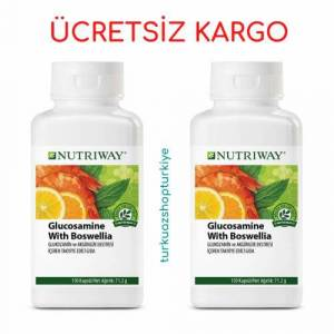 2 ADET Amway Glucosamine with Boswellia NUTRIWAY
