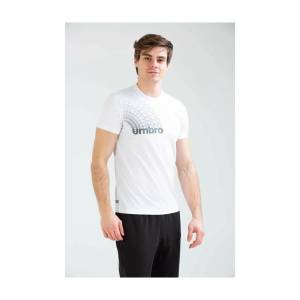 Umbro Erkek T-shirt Tf-0011 Meyr Tshirt TF-0011/WHITE