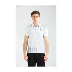Umbro Erkek Polo Yaka T-shirt Tf-0045 Sens Polo TF-0045/WHITE