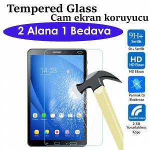 Samsung Galaxy J 7.0 Tempered Cam Tablet Ekran Koruyucu