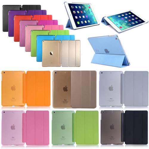 Apple iPad Mini 2 Kılıf Smart Case Uyku Modlu Kapaklı Standlı A1489 A1490 A1491