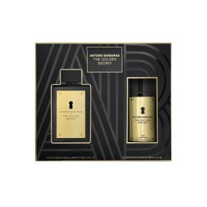 Antonio Banderas The Golden Secret EDT 100 ml Erkek Parfüm Seti