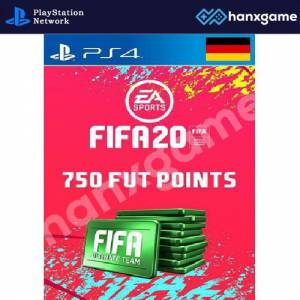 FIFA 20 Ultimate Team FUT 750 Points - PS4 - GERMANY PSN KEY - HEMEN TESLİM