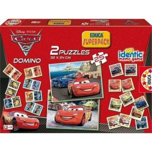 Educa 14927 Superpack Cars 2