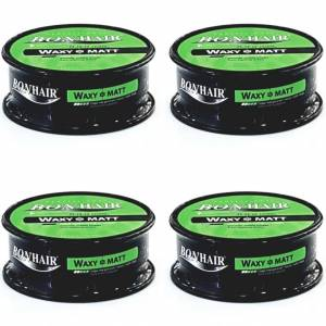 Bonhair Waxy Matt Wax 150ml Mat Vax 4 adet Vaks