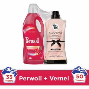 Perwoll Color 2L+Vernel Sup. Rom. 1,2Lx4 1 li Mix