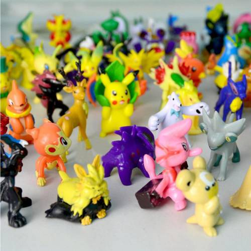 Kaliteli Pokemon Figür 24 Adet Pokemon Go Action Figure Set