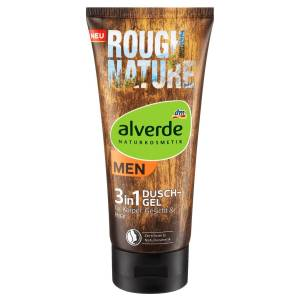 Alverde Men Rough Nature 3in1 Duschgel 200ml