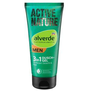 Alverde Men Active Nature 3in1 Duschgel 200ml
