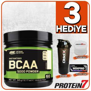 Optimum Bcaa 5000 Powder 345gr - Aromasız