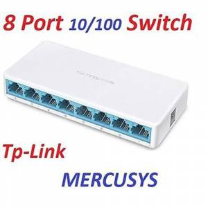 TP-LINK MERCUSYS MS108 8PORT SWİTCH