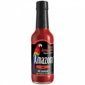 Red Amazon pepper sauce 155mL