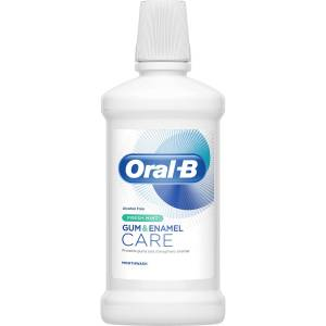 Oral-B Gum & Enamel Care Fresh Mint Mouthwash Alcohol Free 500 ml