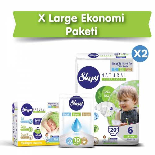 Sleepy Natural 6 Beden 20 Adet