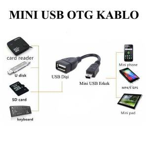 Mini USB OTG Kablo Android Tablet PC - 15cm