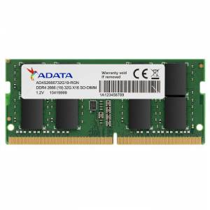 ADATA DDR4 8gb 2666mhz PREMIER Notebook Ram CL19 AD4S266638G19-S
