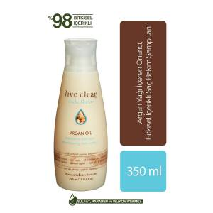 LIVE CLEAN ARGAN OIL RESTORATIVE ŞAMPUAN  350ML