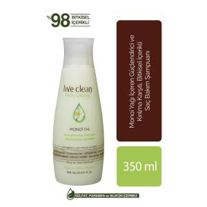 LIVE CLEAN MONOI OIL ŞAMPUAN 350ML