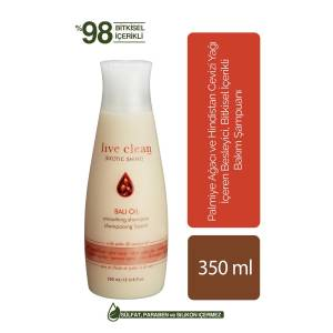 LIVE CLEAN BALI OIL SMOOTHING ŞAMPUAN 350ML