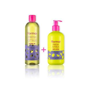 Flormar Shower Gel & Body Lotion