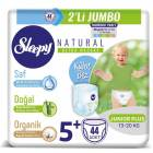 Sleepy Natural Külot Bez 5+ Beden 44 Adet