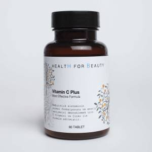 Health For Beauty Vitamin C Plus 1000 mg 60 Tablet