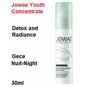 Jowae 30 ml Youth Concentrate Detox and Radiance nuit gece
