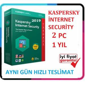 KASPERSKY INTERNET SECURITY 2019 - 2 PC / 360+ Günlük - EN UYGUN FİYAT Windows 10 Uyumlu