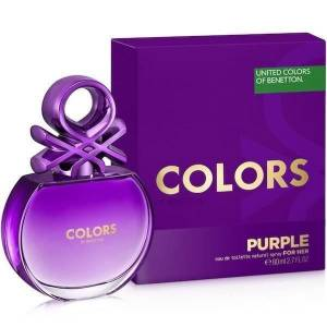 Benetton Colors Purple EDT 80 ML Kadın Parfümü