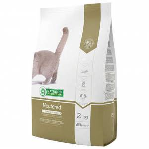 Natures Protection Neutered Tavuklu ve Hindili Kisir Kedi Maması 2 Kg