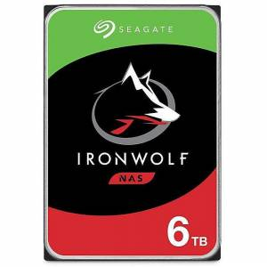 6 TB 3.5 SEAGATE 7200RPM 256MB ST6000VN001 IRONWOLF NAS