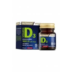 Nutraxin Vitamin D3 1000 120 Tablet (Miad 04/2023)