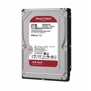 Wd 2Tb Red 3,5 64Mb 5400Rpm Wd20Efax Harddisk