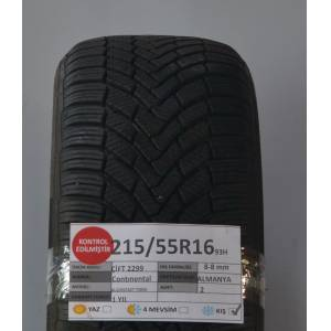 Continental 215/55R16 93H 8-8 mm W.Contact Ts 850